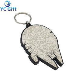 Spazii in bianco chiave di gomma di sublimazione del supporto 3D del PVC del fumetto del cuore di Keychain del ricordo promozionale di plastica molle su ordinazione all'ingrosso di attività con il disegno qualsiasi marchio (KC09-A)
