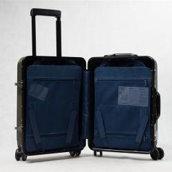 Uitzetbaar draag de Koffer van de Spinner van de Vezel van de Koolstof van de Premie van de Bagage