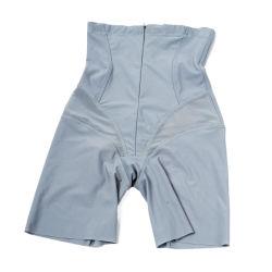 여자 개머리판쇠 기중기 배 내복 섹시한 작은 젊음을 체중을 줄여 높은 허리 배 통제 정면 지퍼 바디 셰이퍼는 체조 스포츠 간결 내복 숙녀를 만든다 Underwear