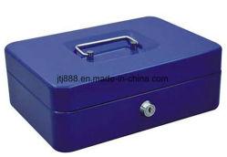Casella d'acciaio dei contanti da 10 pollici euro con la serratura di tasto del cassetto dei soldi (JGH0021)