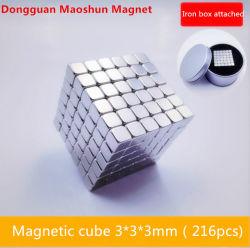 L'aimant NdFeB Square cube magique de hautes performances