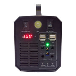 Ибп мощностью 300 Вт 288WH индивидуальные литиевые аккумуляторы солнечного зарядного устройства