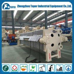 Panela de ferro fundido de alta pressão Prensa-filtro para tratamento de águas residuais