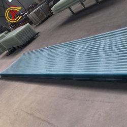 Hoja de impermeabilización de cubiertas de plástico corrugado de 1,0 mm de pared transparente del panel de plástico reforzado con fibra