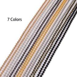 커튼 장식을 위한 유색 금속 철볼 비드 체인