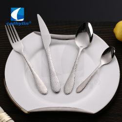 Couteau en acier inoxydable unique Silver Spoon de vaisselle de la fourche