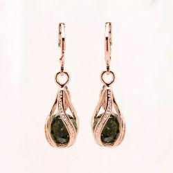 Poignée de commande de mode de qualité Eardrop filles Earrings Bijoux personnalisés