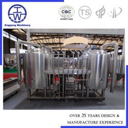 Cerveja Microbrewery tornando o novo sistema Cervejeira