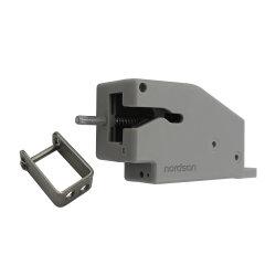 Instalação flexível Mini Não Bloqueado portátil electrónico de segurança do gabinete extrator estilo ejetado pequena gaveta porta Arquivo Locker