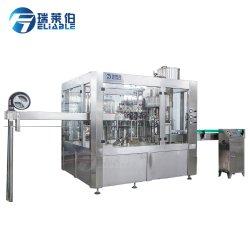 La Chine de l'eau gazéifiée automatiques de boissons énergisantes faisant l'embouteillage Machine de remplissage