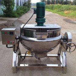 Miscelatore di cottura rivestito elettrico del riscaldamento di vapore con la ruspa spianatrice della pala