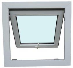 UPVC/PVC Janela de debulhar e parte inferior dos vidros fixos como2047
