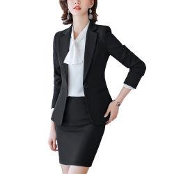직업적인 디자인 여성 사업 옷차림 또는 Customizable Single-Breasted 여자의 한 벌
