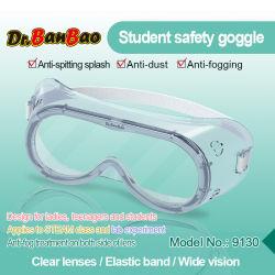 Les étudiants de l'isolement de la sécurité de haut transparent joint des lunettes de protection pour empêcher la brume et la poussière