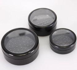 3/5ml, 10ml, 20ml, 30ml poudre en vrac conteneur pour les soins du visage poudre en vrac cas