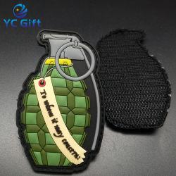 Китай оптовой Custom передача тепла тактических передачи Полиции исправлений одежды Одежда аксессуары для печати этикеток ПВХ резиновые военных патч с логотипом (PT37)