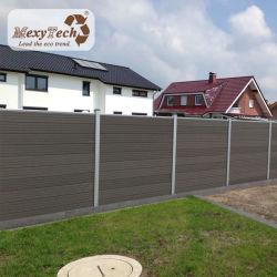 특허 받은 제품 실외 개인 정보 보호 정원 WPC Fence와 자외선 차단