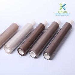 Ptfe-Kleefband Met Glasvezelcoating En Vrijgegeven Papier
