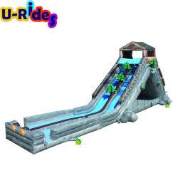 Long de la jungle de la forêt tropicale de l'extrême la diapositive de patinage de l'eau n Slide jeu amusant pour les adultes de l'eau
