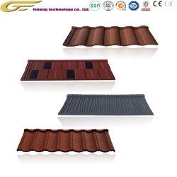 Matériau de construction en pierre de sable en céramique de tôle en acier recouvert de tuiles du toit