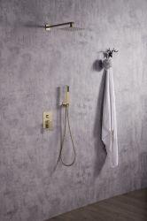 أفضل سعر غرفة دش فندق الحمام المثبت على الجدار دش مخفي اضبط الحنفية