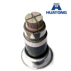 11kv isolation XLPE Câble d'alimentation électrique avec conducteur de cuivre/aluminium