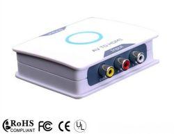 AV к разъемам HDMI преобразователя с 3RCA Cvbs 1080P
