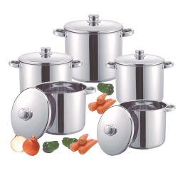 10PCS Stock Pot maior grande caçarola grande sopa de Panelas em Aço Inoxidável e Hot Pot Stock Pot