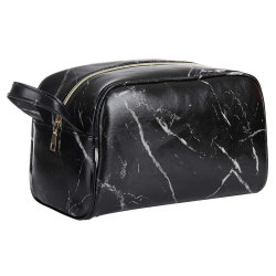 卸し売りカスタム昇進のギフトの大理石PUの女性旅行袋の化粧品袋