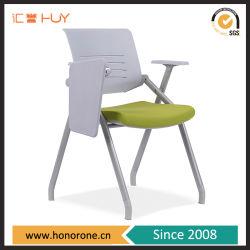 مدرسة [ترنينغ] كرسي تثبيت بلاستيك ظهر [فولدربل] مقادة مع كتابة قرص