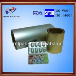 Pharmazeutisch für Capsule und Tablets Packaging Alu Alu Foil