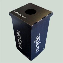 Impressions personnalisées Muti-Color PP Hollow poubelle Corbeille de recyclage de PP Hollow poubelle Poubelle