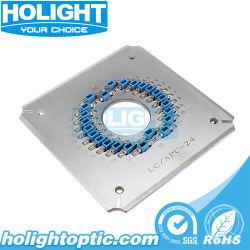 LC 24 Portas Conector de Fibra Ótica do APC Gabarito de Polimento/suporte