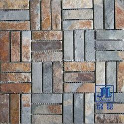 인기 있고 저렴한 대리석 재질 Mosaic Tile 바닥재 사용 그리고 벽