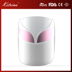 Couleur multifonction de la peau du cou de soins du visage de photons de lumière LED 7 couleurs thérapie de beauté masque facial