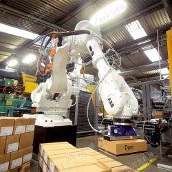 Système de palettisation Robot Sac automatique d'empilement/bouteille/l'emballage carton Machines bras Multi-Degree robot robot Palletizer Machine Machine d'emballage industriel