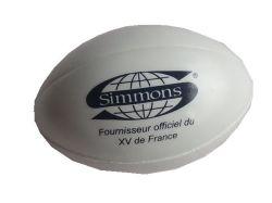 Bolas de rugby anti-estresse PU para promoção