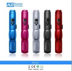 2013 Kit di sigarette elettro-zinco nuovi, modulo a tensione variabile da 2200 mAh, kit e-CIG Awon