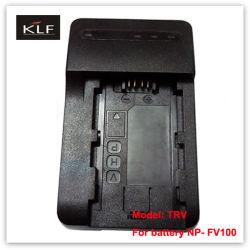 De Lader Trv van Camcorder voor de Batterij np-Fv100 van de Camera van Sony