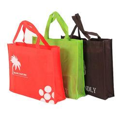 Eco freundliche Einkaufstasche, gebildet von nicht gesponnenem Polypropylen