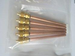 Ricambi per refrigerazione condizionatore d'aria, valvola di servizio di carica con accesso a penna a perno