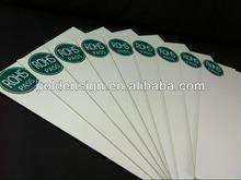 Scheda della gomma piuma del PVC di RoHS Celuka/Ad/strato rigidi duri ambientali all'ingrosso della gomma piuma