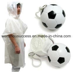 Custom Logo Printed plastic bal Rain Poncho