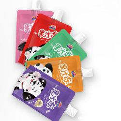 Qinqin saudável de suco de frutas com gelatina Pacote Saco para crianças