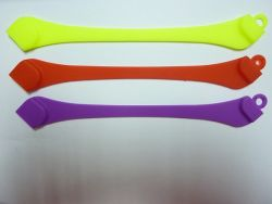 Azionamento dell'istantaneo del USB del braccialetto della gomma di silicone della novità (OM-P157)