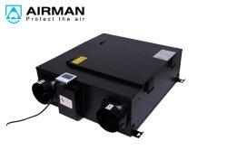سقف اختياري Erv HDV Air Recuperator UV اقتصادي وعملي نظام تهوية الهواء النقي، منفذ التهوية VF-D250h