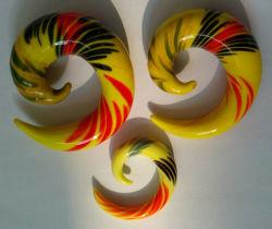 Jóias de corpo/3cores jóias do Corpo de expansores de orelha
