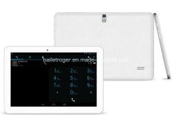 10,1 pouces Mtk6572 double coeur, 8/16Go intégré, FM/GPS/Bluetooth Tablet PC 3G (M-1016)