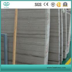 Grey di Atene/vena grigia/di legno della Cina/marmo grigio di legno per le mattonelle parete/del controsoffitto/mattonelle di pavimentazione