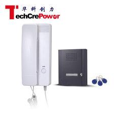Qh-0881rt de Intercomunicación de auricular de teléfono de la puerta de audio de la puerta de Smart Phone para Multi Sistema Apartamento